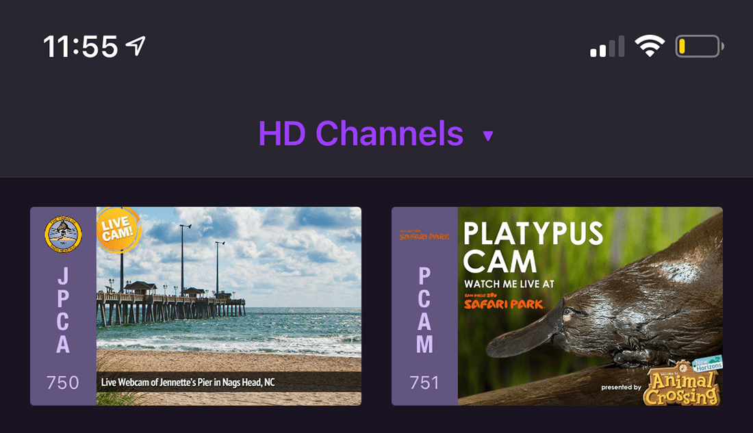 custom channel metadata