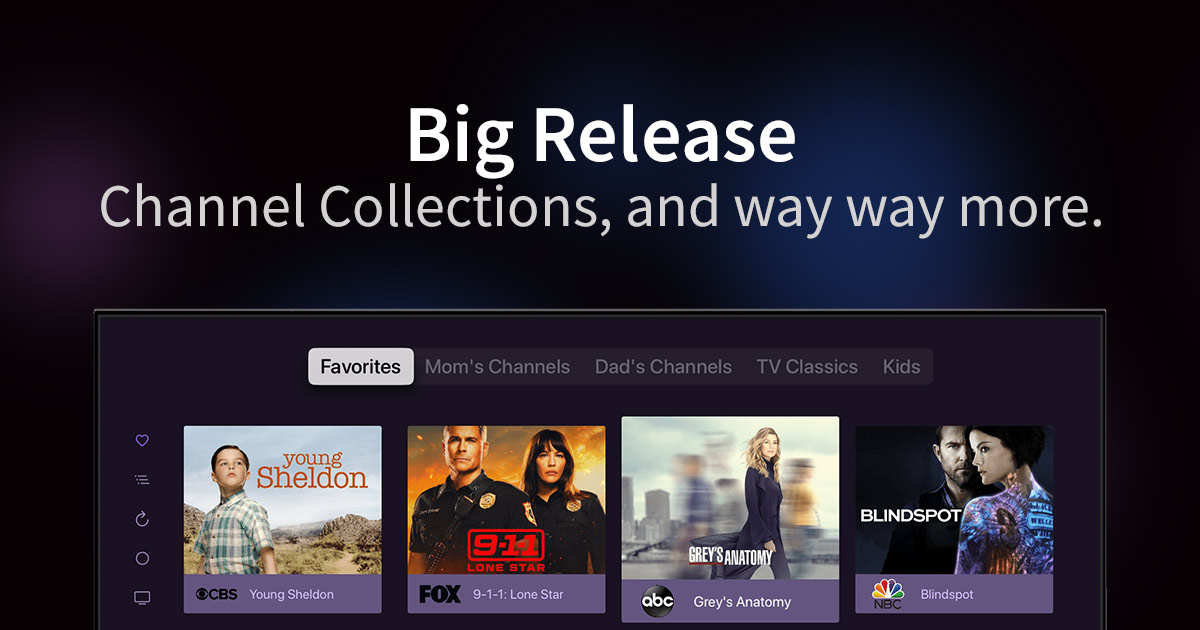 channels new big release channel collections server side settings